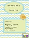 Grammar Set 1: Sentences