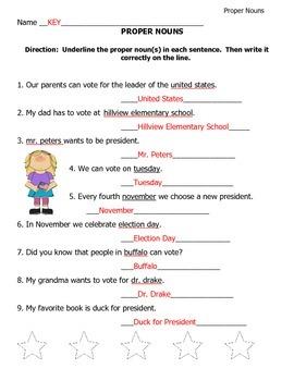 Grammar Sheets