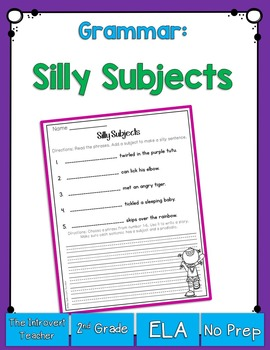 Grammar: Silly Subjects
