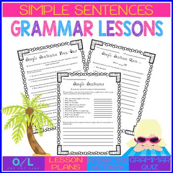 Simple Sentences {Journeys} Week #2