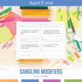 Dangling Modifiers Task Cards