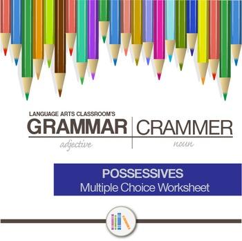 Possessives Worksheet
