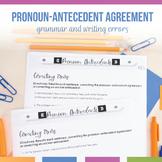 Grammar Errors: Pronoun Antecedent Errors