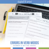 Verb Voice and Mood Shift