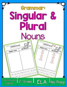 Grammar: Singular and Plural Nouns