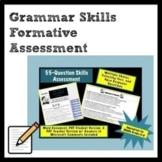 Grammar Skills Formative Assessment for Middle Grades ELA