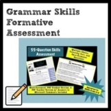 Grammar Skills Formative Assessment for Middle Grades ELA