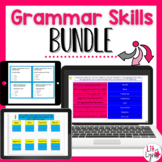 DIGITAL GRAMMAR SKILLS INTERACTIVE NOTEBOOK BUNDLE |  Distance Learning