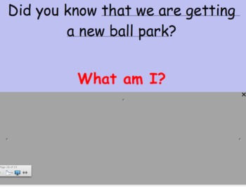 Grammar Skills Review: What Am I? Parts of a Sentence and Functions