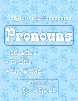 Grammar Skills: Subjective & Possessive Pronouns - She/Her, He/His, They/Their