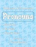 Grammar Skills: Subjective & Possessive Pronouns - She/Her