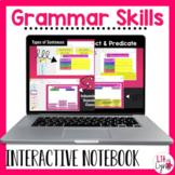 Digital Grammar Skills Interactive Notebook Activities | D