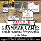 Grammar Games, Great for Learning Stations & Centers, Vol.