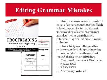 Grammar Games, Great for Learning Stations & Centers, Vol. 1 Bundle, Gr 7-12