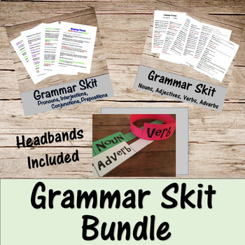 Grammar Skit Bundle -Parts of Speech-