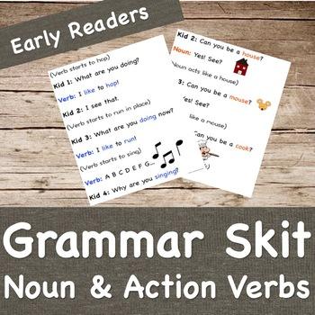 Grammar Skit- Noun and Verb