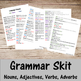 Grammar Skit- Nouns, Verbs, Adjectives, Adverbs