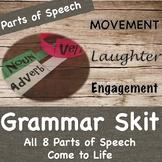 Grammar Skit- Parts of Speech-Fluency Practice