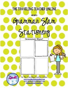 Grammar Slam