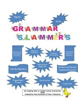 Grammar Slammers Weekly