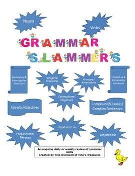 Grammar Slammers Weekly Volume 2