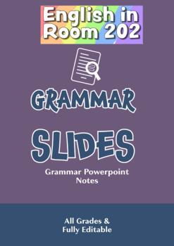 Grammar Slides