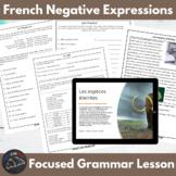 Grammar Snacks - French negative expressions