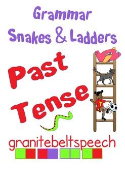 Grammar Snakes & Ladders: Regular and Irregular Past Tense