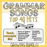 Grammar Songs - Teach ELA Skills With Music!