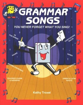 Grammar Songs Box of 70 books by Kathy Troxel/Audio Memory