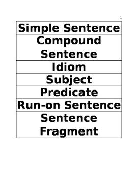 Grammar Sort