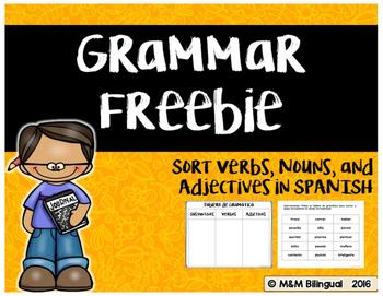 Grammar Sort {SPANISH}