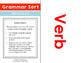 Grammar Sort: Verbs