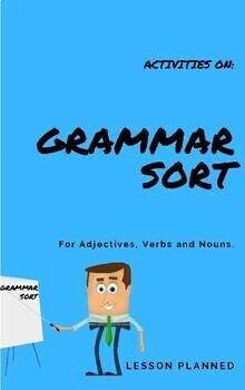 Grammar Sort for Grade 1