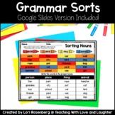 Grammar Sorts | Google Classroom | Distance Learning