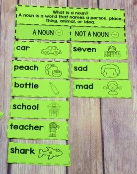 Grammar  Sorts for 2nd Grade