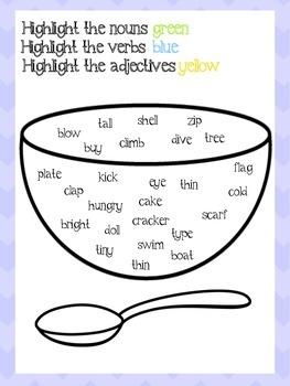 Grammar Soup Games
