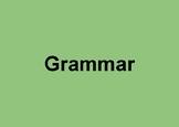Grammar, Spelling, and Punctuation (Teacher Cheat Sheet an