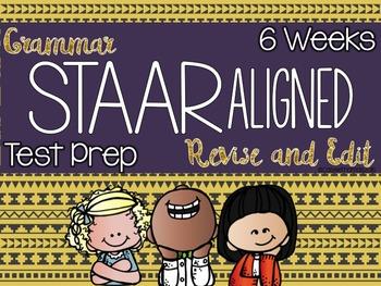 Grammar Spiral Review - STAAR Aligned