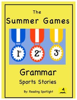 Grammar Sports Stories:  Summer Games
