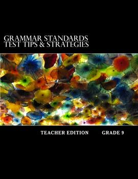 Grammar Standards Test Tips & Strategies: Teacher Edition