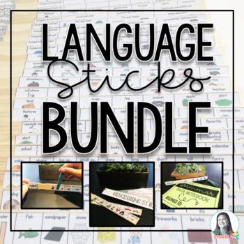Language Sticks Bundle