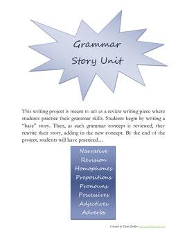 Grammar Story Unit
