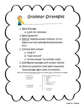 Grammar Strategies