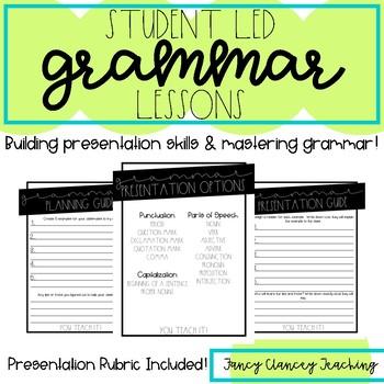 Grammar Student Presentations