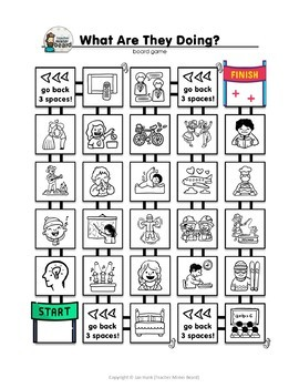 Grammar Study / Present Continuous *GAMES & ACTIVITIES PACK*
