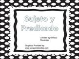 Grammar Subject and Predicate in Spanish