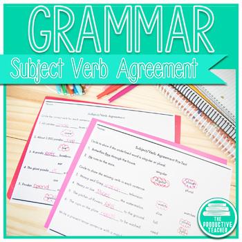Grammar: Subject/Verb Agreement