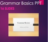 Grammar - Subjects, Verbs, Clauses, Sentences, Predicate, Writing PPT