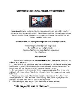 Grammar TV Commercial Class Project